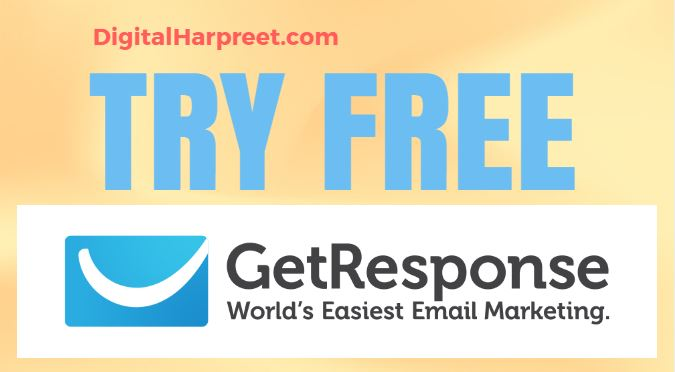 Try FREE GetResponse Account For 30 Days