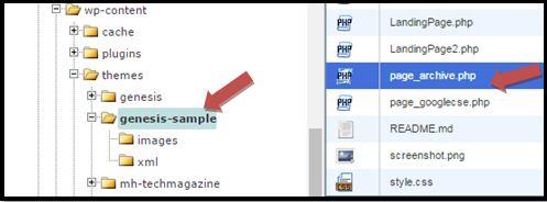 Genesis Theme Archive Page Genesis Child Theme Page_archive