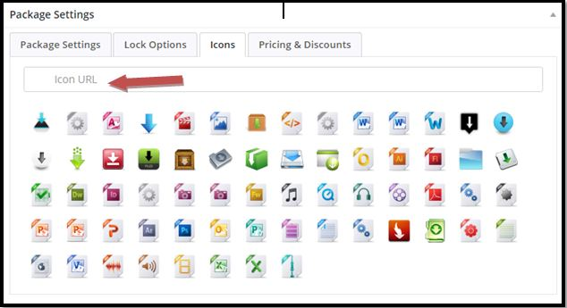 WordPress Download Manager Icons