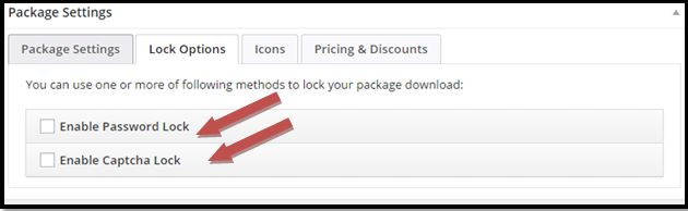 WordPress Download Manager Lock Settings