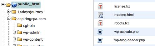 Robots.txt File Locate in Cpanel