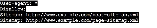 Robots.txt File add sitemap 2