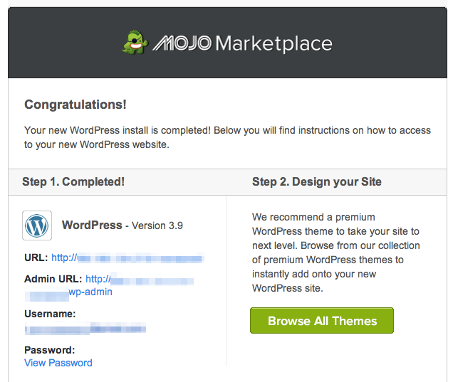 Start A Blog WordPress Bluehost