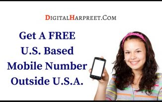 How To Get Permanent FREE US Mobile Number From Any Country?