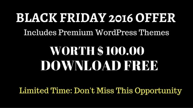 Black Friday 2016 Freebies – FREE Download