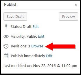 Delete WordPress post revisions