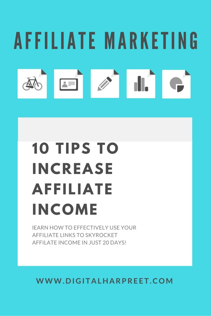 10 Tips To Increase Affiliate Income in 2017 2