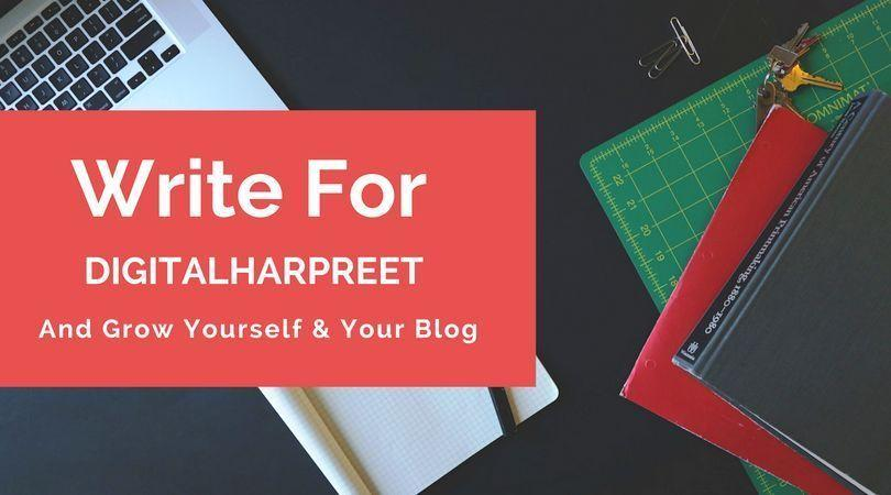 Write & Grow Youself At DigitalHarpreet