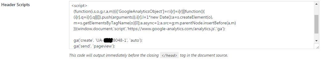 Google Analytics Tracking Code 3