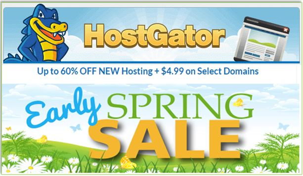 Hostgator Spring Sale