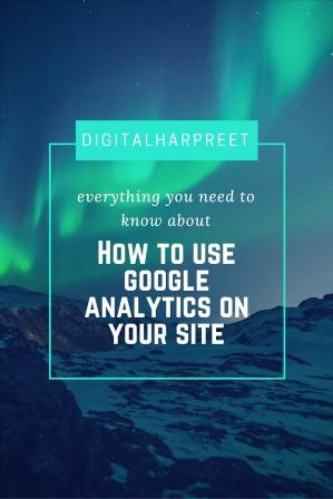 Scale Your Growth Using Google Analytics & Measure Blog Performance Pinterest Image