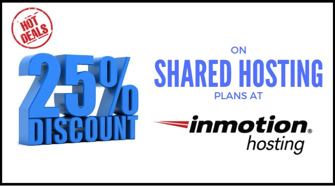 InMotion Hosting Discount Coupon: 25% OFF Shared Hosting