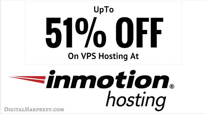 Inmotion Hosting Discount: 51% OFF Coupon On VPS Hosting
