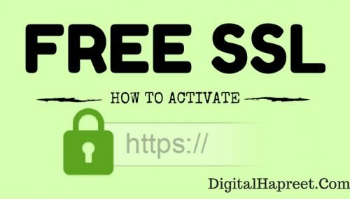 How To Activate Free WordPress SSL Certificate (Bluehost)