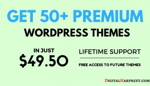 50+ Premium WordPress Themes in Just $49.50 – With Lifetime Support