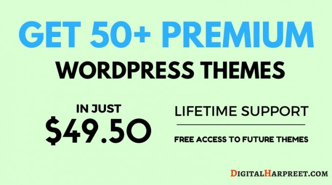 55+ Premium WordPress Themes in Just $49 – With Lifetime Support