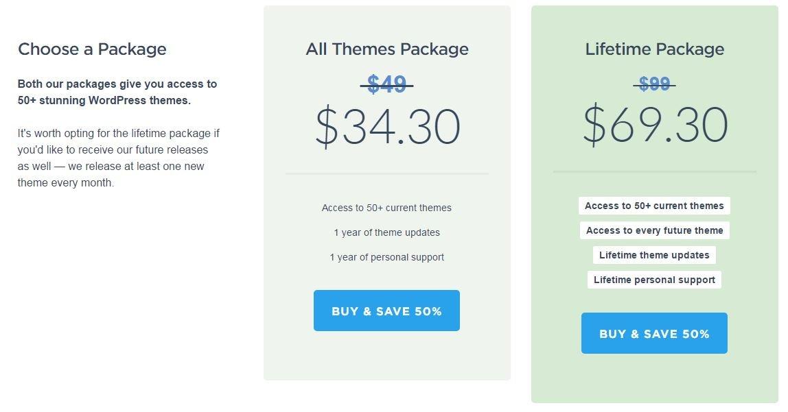 SpringSale2017 Premium WordPress Themes