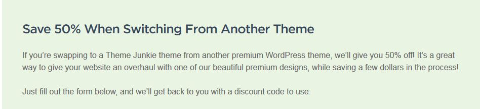 Premium Themes Collections - discount coupon Premium WordPress Themes