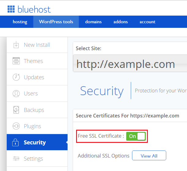 free-ssl-wp-tools-activate Activate Free WordPress SSL