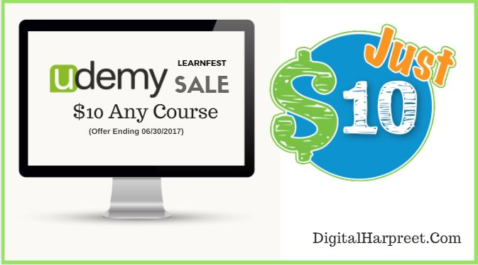 Udemy June 2017 Coupon Codes – $10 Any Course