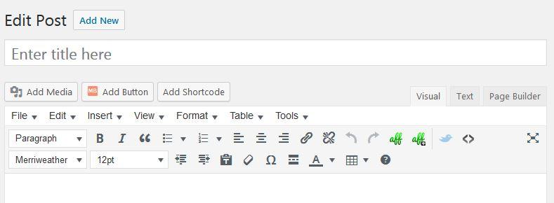 wordpress-contributor-activate-media-button-visible