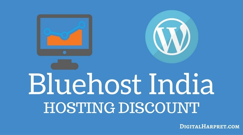 Bluehost India Discount Coupon 35% Off