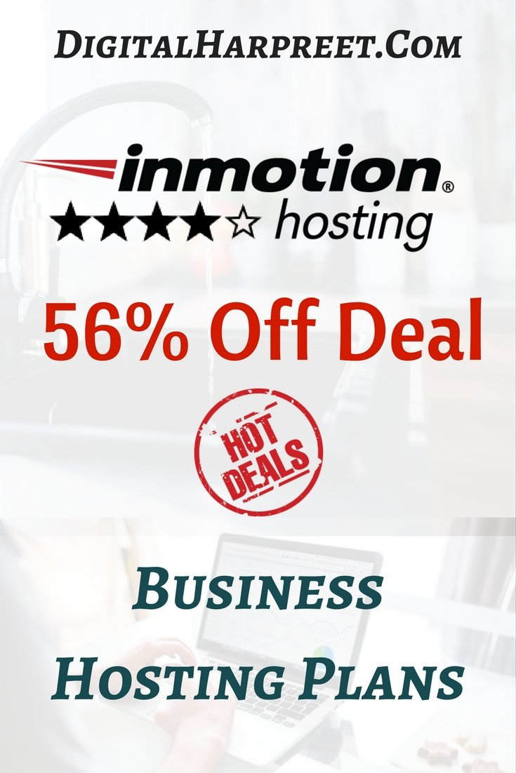 InMotion Shared Hosting Review 2017 Pinterest