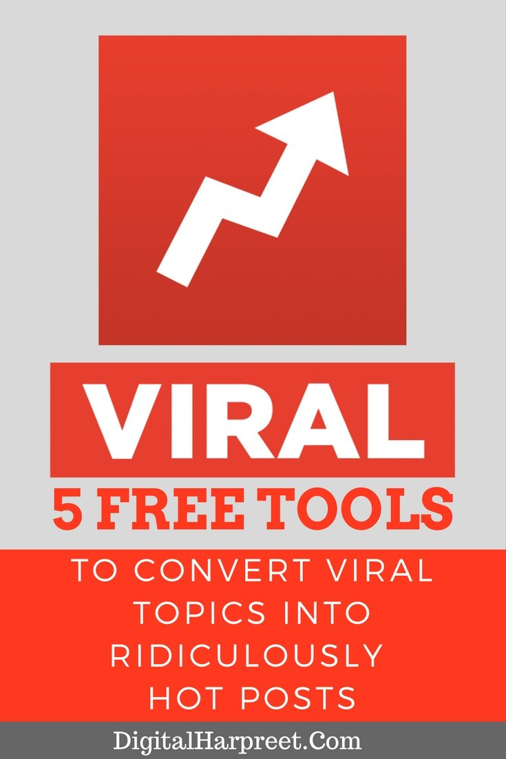 5 Free Tools To Convert Viral Topics Into Ridiculously Hot Posts Pinterest Image