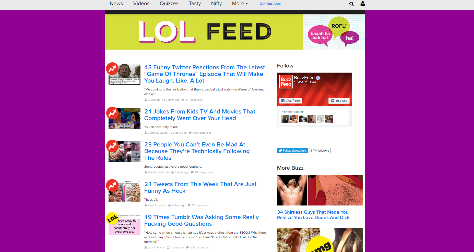 BuzzFeed See whats entertaining - 6 Tips to Transform Viral Issues Into Ridiculously Hot Posts
