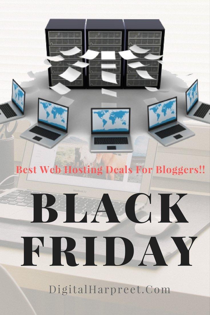 Best Black Friday Web Hosting Deals For Bloggers!!