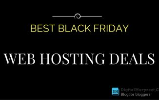 Black Friday Web Hosting Deals For Bloggers