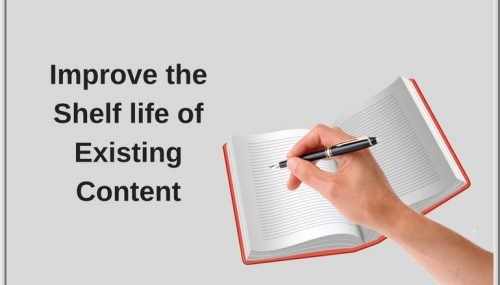 Digital Marketing: Guide to Improve the Website Content Shelf-Life