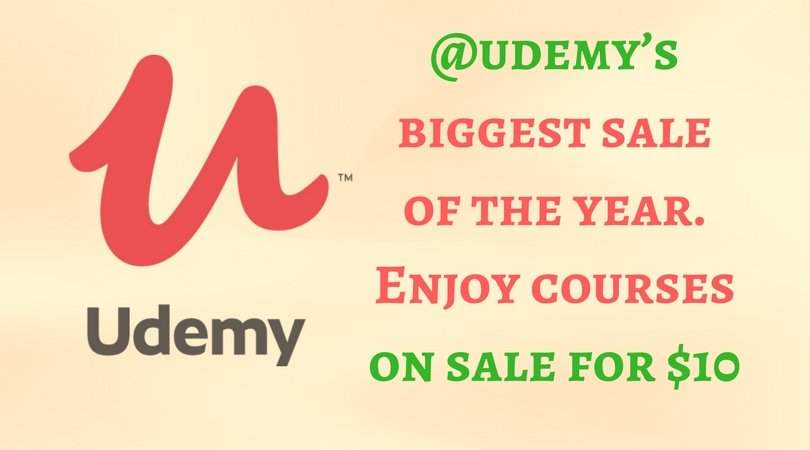Udemy Black Friday Sale: $10 Through Cyber Monday