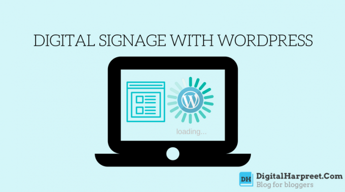 Taking Over Restaurant Digital Signage With WordPress