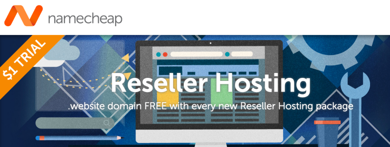 Namecheap 40% OFF Reseller Hosting