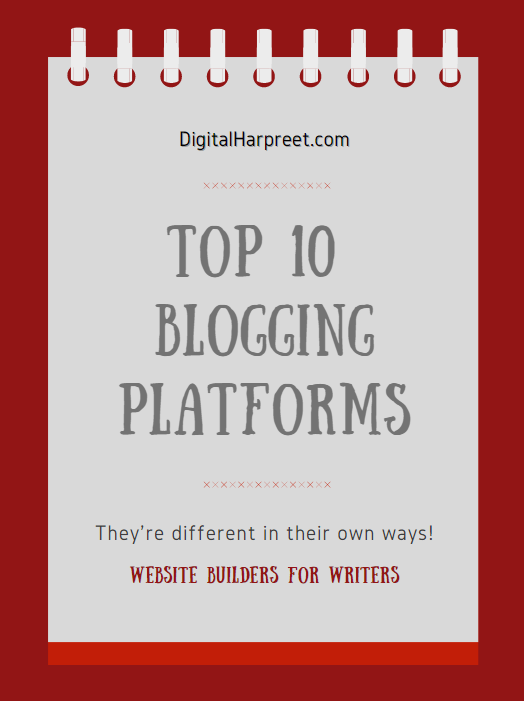 Top 10 Bloggin Platforms